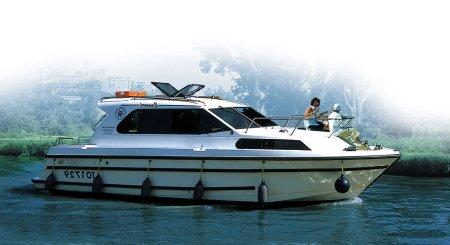 Consort Hausbootvermietung ohne Führerschein auf den Flüssen und Kanälen in Frankreich