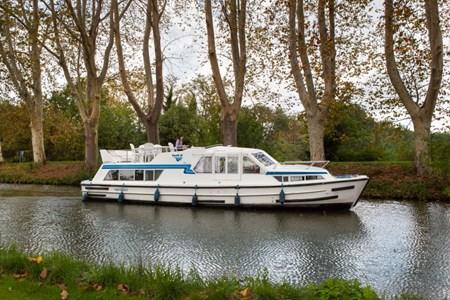 Continentale Hausbootvermietung ohne Führerschein auf den Flüssen und Kanälen in Frankreich