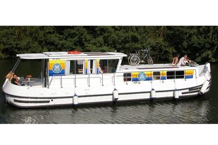 Pénichette 1260 R F turismo paseos Francia vacaciones barco lancha a motor chalana gamarra