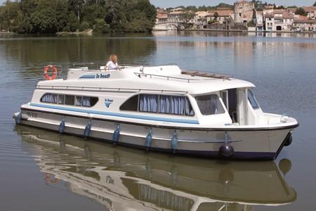 Salsa A Tourismus Spaziergang Frankreich Urlaub Schiff Schnellboot Hausboot kleines Hausboot
