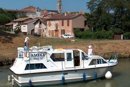 Viking 1000 F Hausbootvermietung ohne Führerschein auf den Flüssen und Kanälen in Frankreich