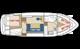 Plan Linssen yacht 36 location de péniches sans permis sur rivières et canaux de France