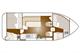 Plan Nicols 900 Confort CN location de péniches sans permis sur rivières et canaux de France