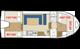 Plan Riviera 920 F location de péniches sans permis sur rivières et canaux de France