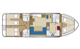 Plan Waterford Class location de péniches sans permis sur rivières et canaux de France