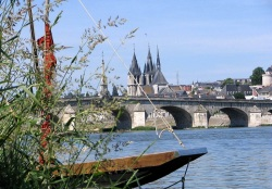 The Loire in Blois