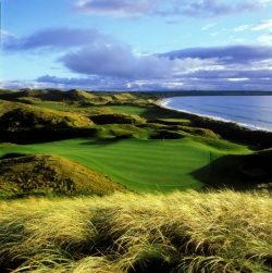 Ballybunion golf. One of the 400 Irish golf courses