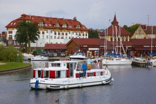 House-Boats rental Barging Poland