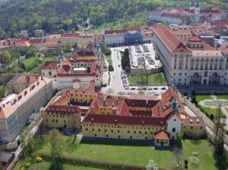 Aerial photography from Prague, Czech Republic